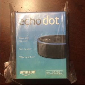 Echo Dot, 2nd generation.  NIB.
